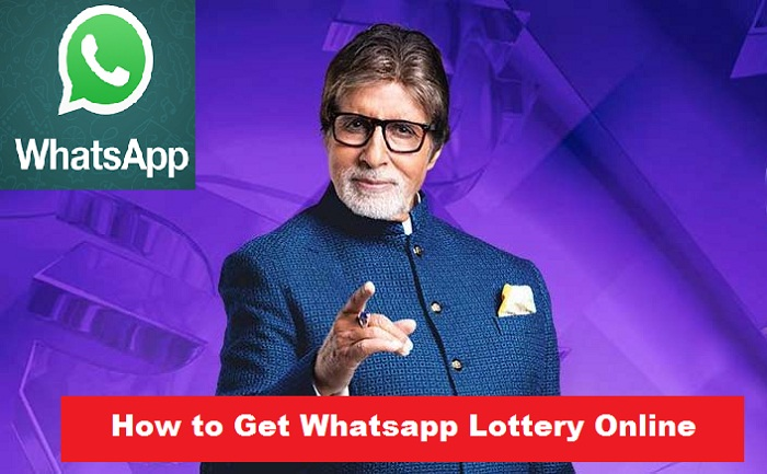 How to get Whatsapp Lottery Online