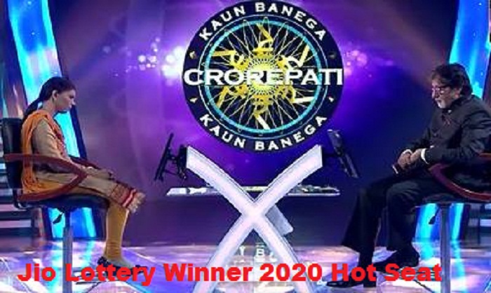 Jio lottery winner 2020 hot seat