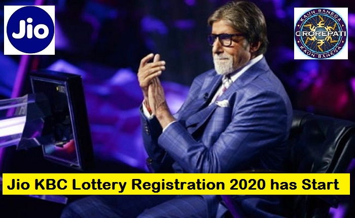 Jio KBC Lottery Registration