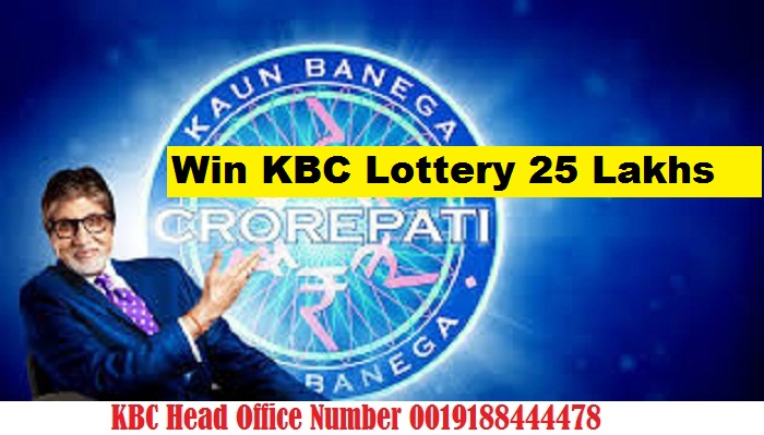 Win KBC Lottery 25 Lakhs with Amitabh Bachchan