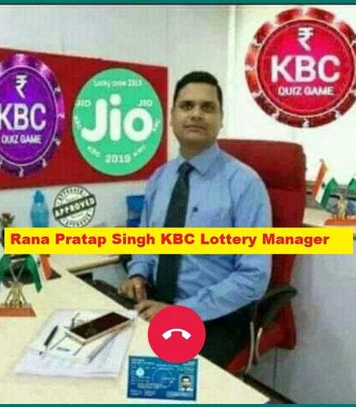 Rana Pratap Singh KBC Lottery Manager