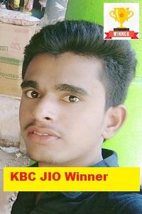 Ganyaal Singh KBC JIO Winner