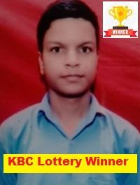 Rajesh Kumar KBC Lottery Winner