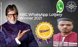 KBC WhatsApp Winner 2021